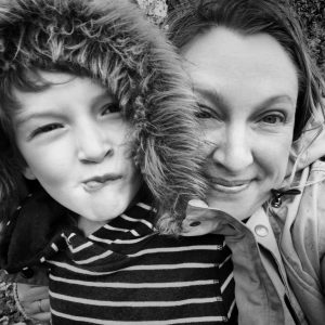 Picture of Gemma Chase of Gemma Chase Photography and her son